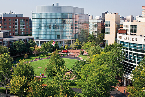 Northeastern University - Best Online Master's in Criminal Justice Degrees