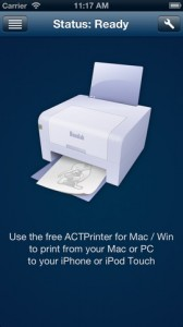actprinter for iphone