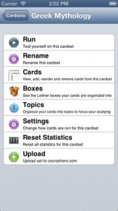 flaschards for iphone