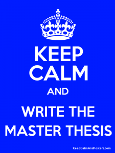 Non thesis masters degree