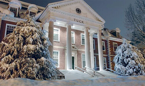 14. Tuck Hall, Tuck School of Business at Dartmouth – Dartmouth College, Hanover, New Hampshire