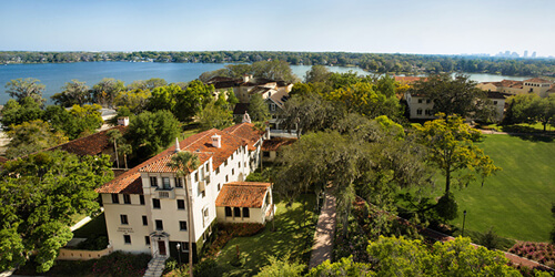 24. Crummer Hall, Crummer Graduate School of Business – Rollins College, Winter Park, Florida