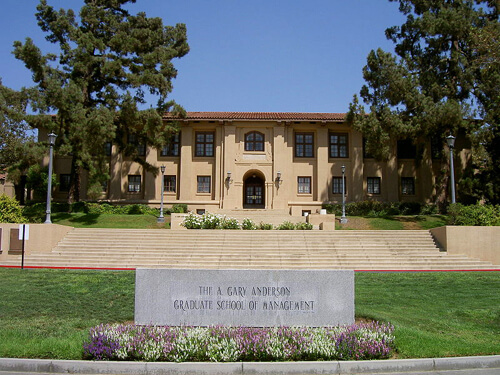 27. A. Gary Anderson Hall, Anderson Graduate School of Management, UCR School of Business Administration – University of California, Riverside, Riverside, California