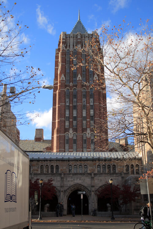 29. Hall of Graduate Studies, Yale Graduate School of Arts & Sciences – Yale University, New Haven, Connecticut