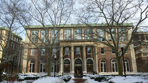 33. Avery Hall, Graduate School of Architecture, Planning and Preservation – Columbia University, New York City, New York