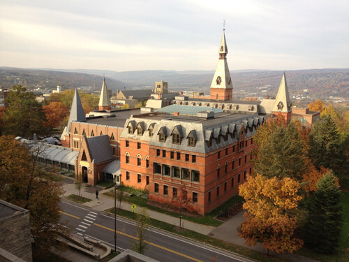 45. Sage Hall, Samuel Curtis Johnson Graduate School of Management – Cornell University, Ithaca, New York