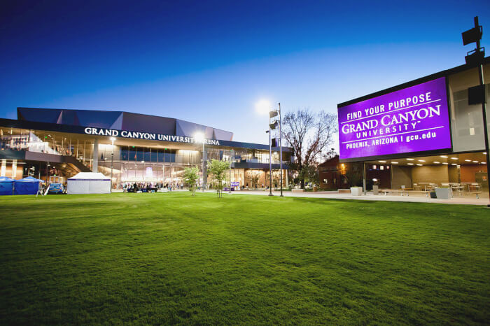 Grand Canyon University Best Affordable Online Master's Degree in Education