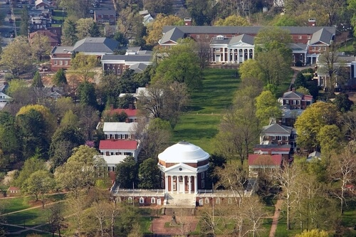 Six types of online master's in engineering degrees are offered at the University of Virginia.
