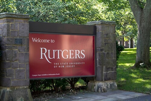 Rutgers University - Online Masters Marketing